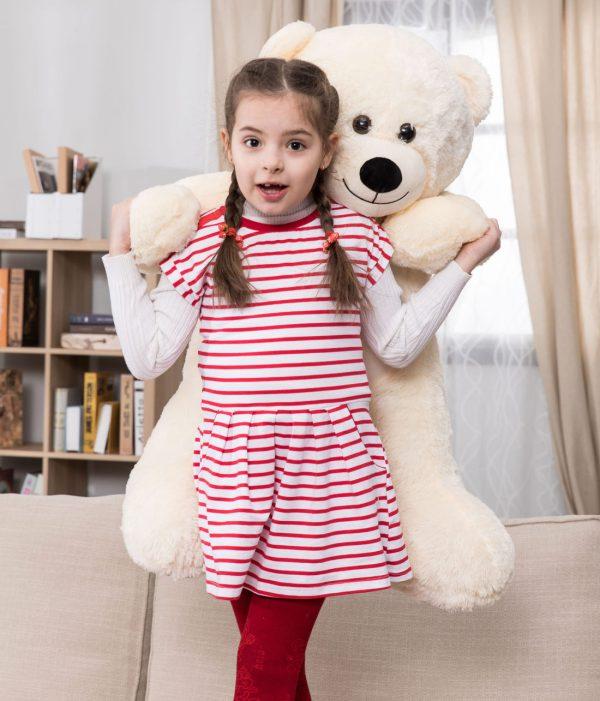 Daney teddy bear 3foot white 023