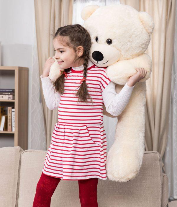 Daney teddy bear 3foot white 024