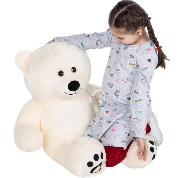 Daney teddy bear 3foot white 026