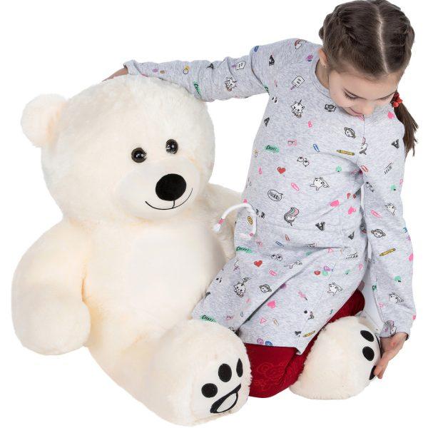 Daney teddy bear 3foot white 027