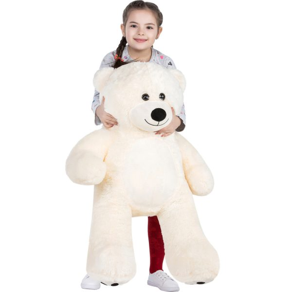 Daney teddy bear 3foot white 028