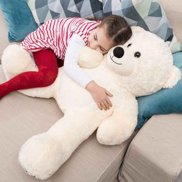 Daney teddy bear 3foot white 030