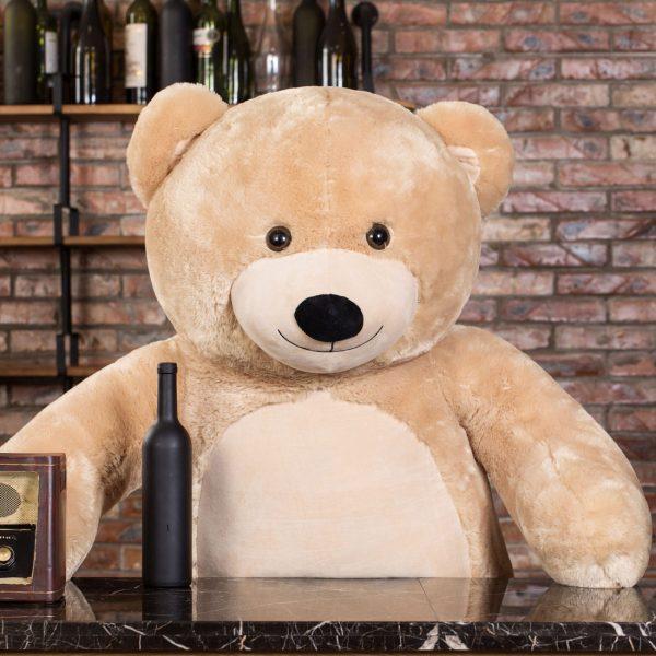 Daney teddy bear 6foot light brown 005