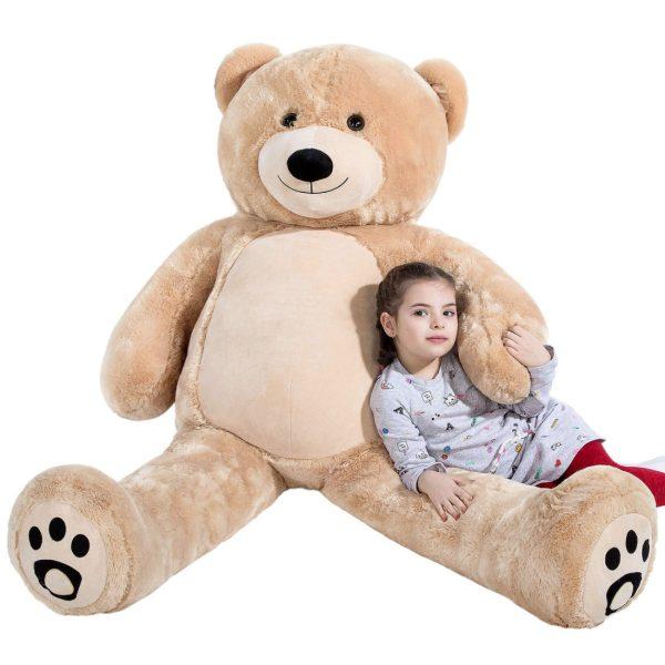 Daney teddy bear 6foot light brown 008