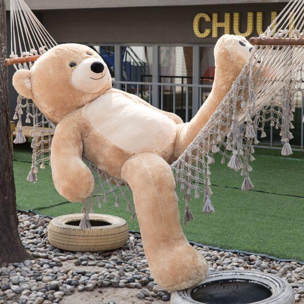 Daney teddy bear 6foot light brown 009
