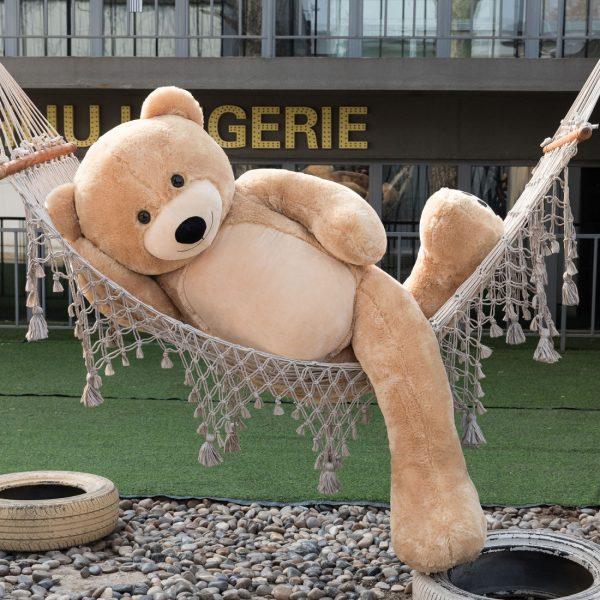 Daney teddy bear 6foot light brown 011