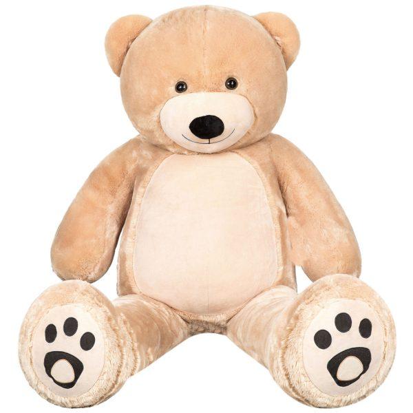 Daney teddy bear 6foot light brown 012