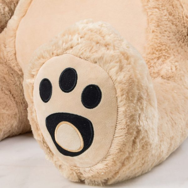 Daney teddy bear 6foot light brown 015