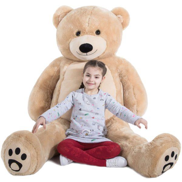 Daney teddy bear 6foot light brown 019