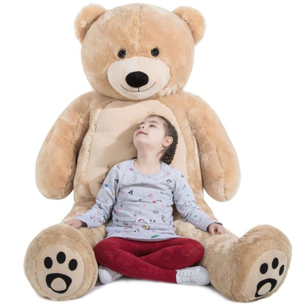 Daney teddy bear 6foot light brown 021