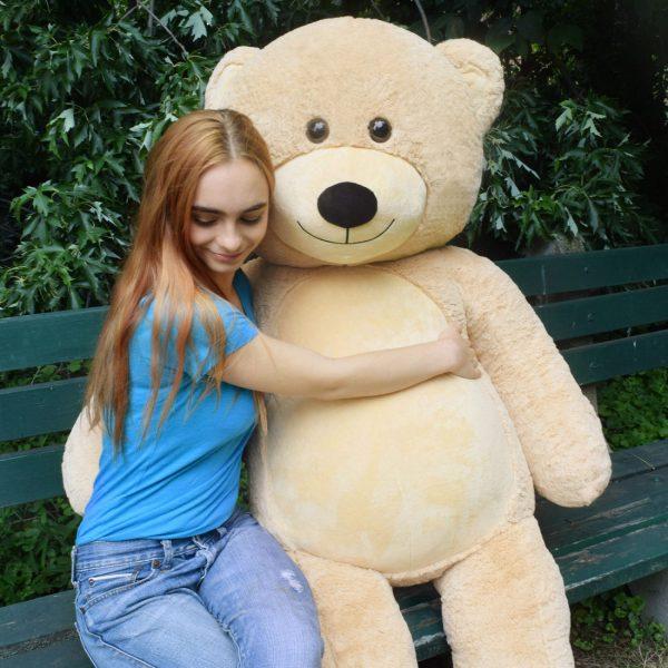 Daney teddy bear 6foot light brown 023