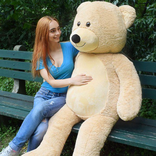 Daney teddy bear 6foot light brown 024