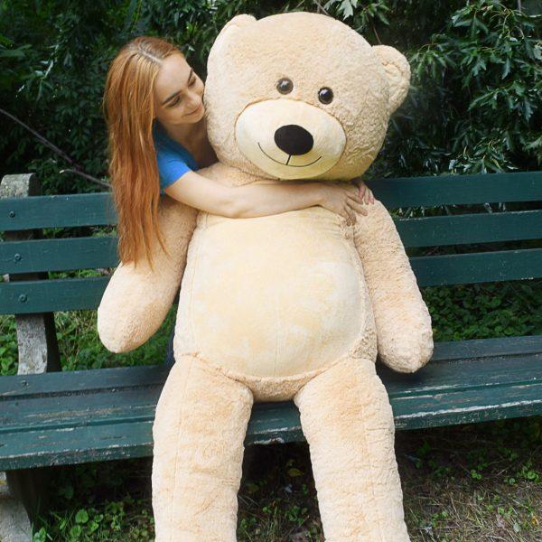 Daney teddy bear 6foot light brown 027