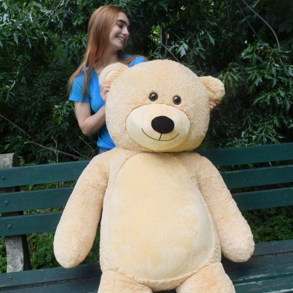 Daney teddy bear 6foot light brown 028