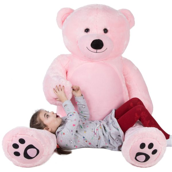 Daney teddy bear 6foot pink 005