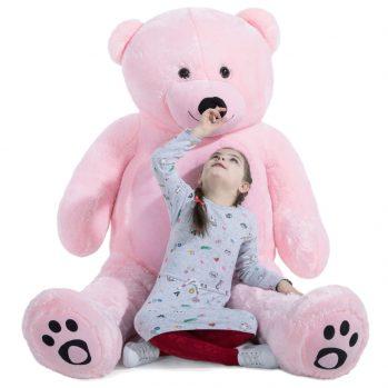 Daney teddy bear 6foot pink 006