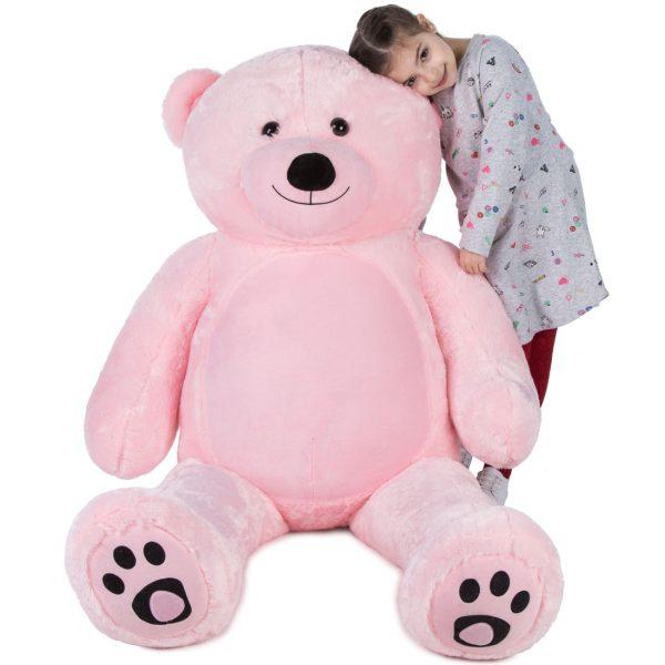 Daney teddy bear 6foot pink 007