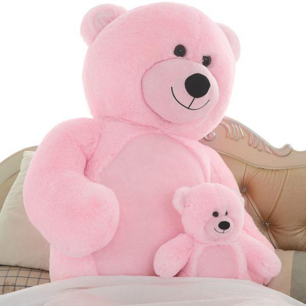 Daney teddy bear 6foot pink 009