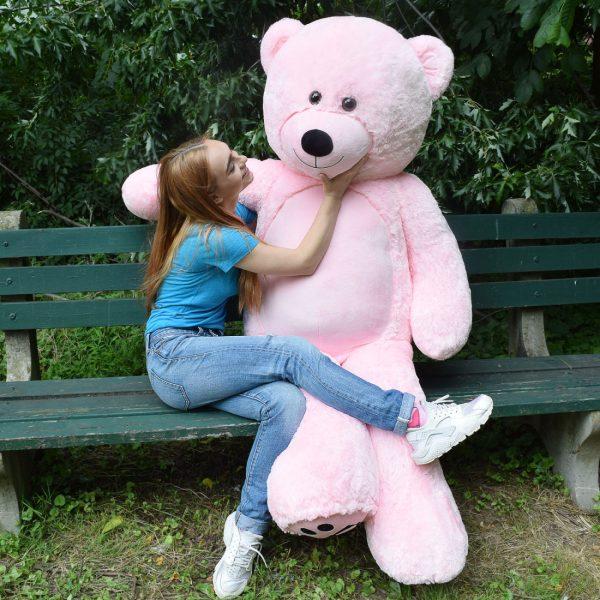 Daney teddy bear 6foot pink 010