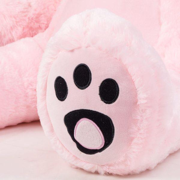 Daney teddy bear 6foot pink 016