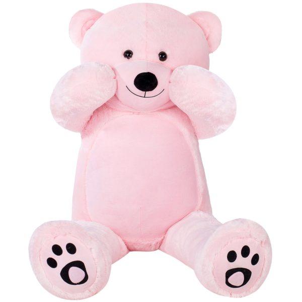 Daney teddy bear 6foot pink 018