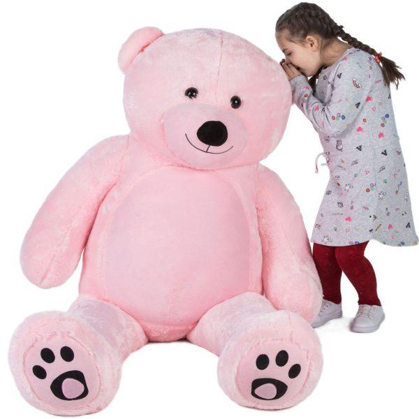 Daney teddy bear 6foot pink 022