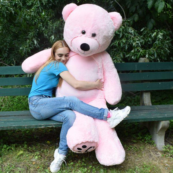 Daney teddy bear 6foot pink 023