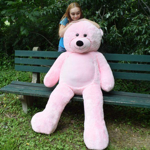 Daney teddy bear 6foot pink 024