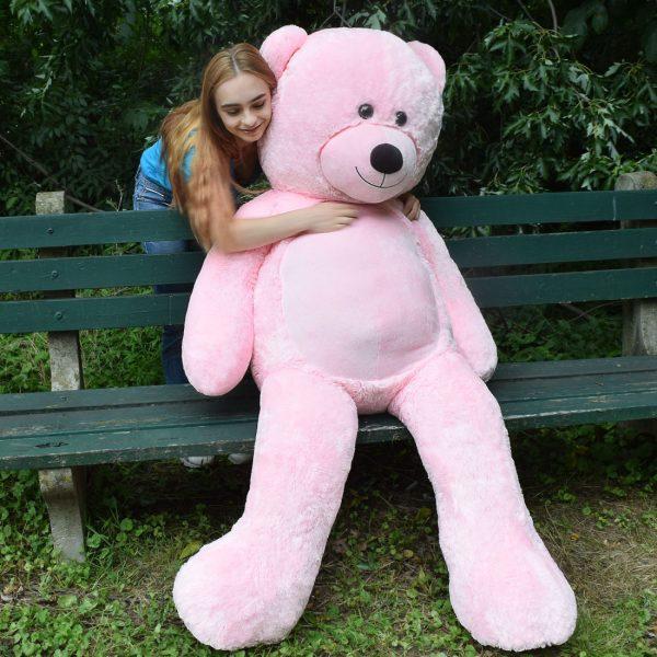 Daney teddy bear 6foot pink 025