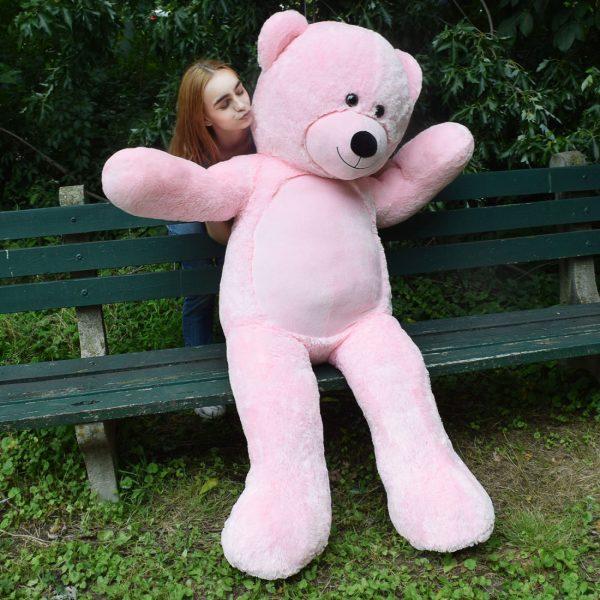 Daney teddy bear 6foot pink 026