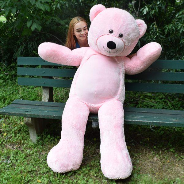 Daney teddy bear 6foot pink 027