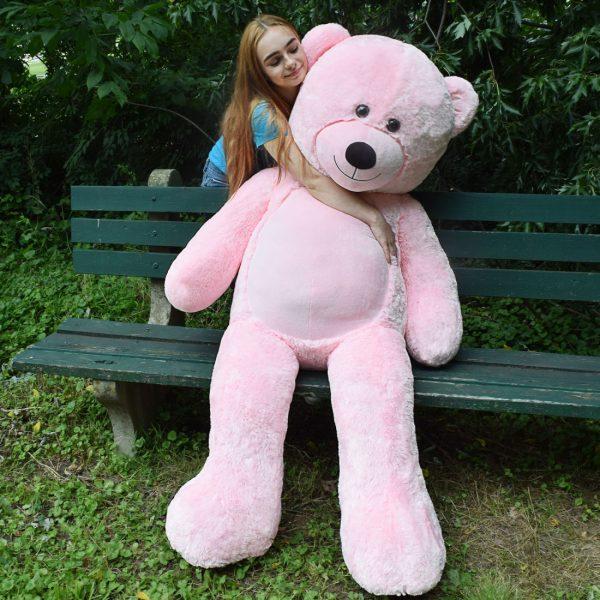 Daney teddy bear 6foot pink 028