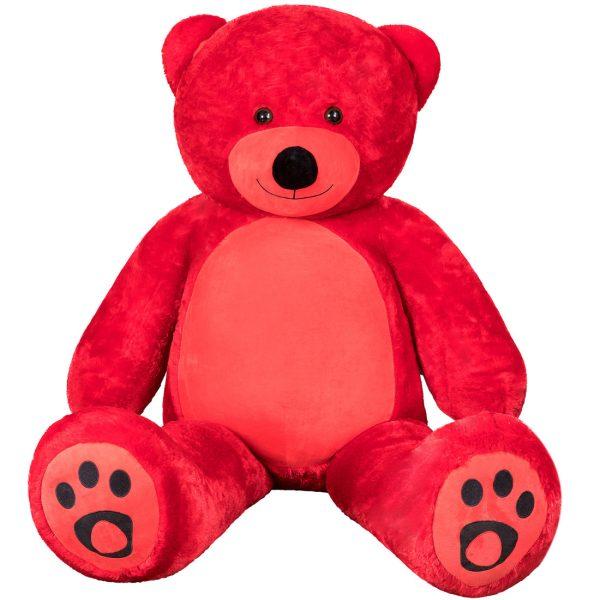 Daney teddy bear 6foot red 014