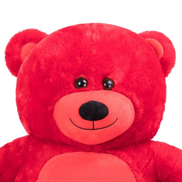 Daney teddy bear 6foot red 017