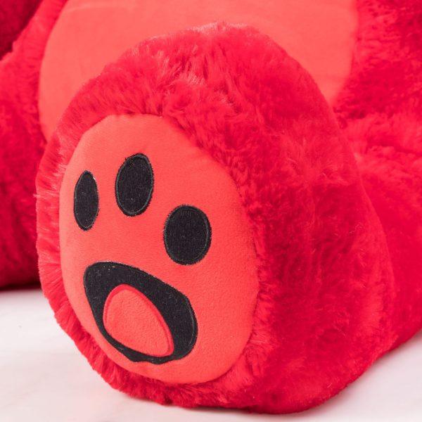 Daney teddy bear 6foot red 018