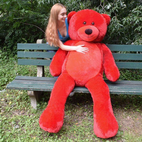 Daney teddy bear 6foot red 019