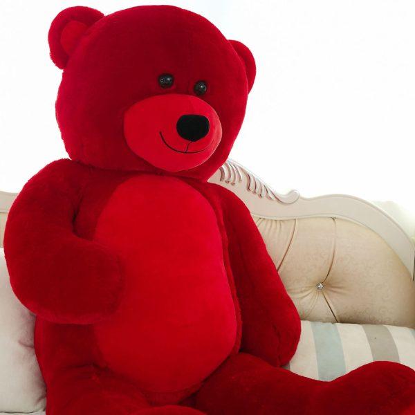 Daney teddy bear 6foot red 026