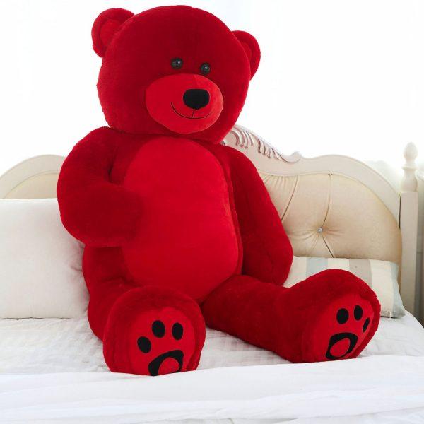 Daney teddy bear 6foot red 027