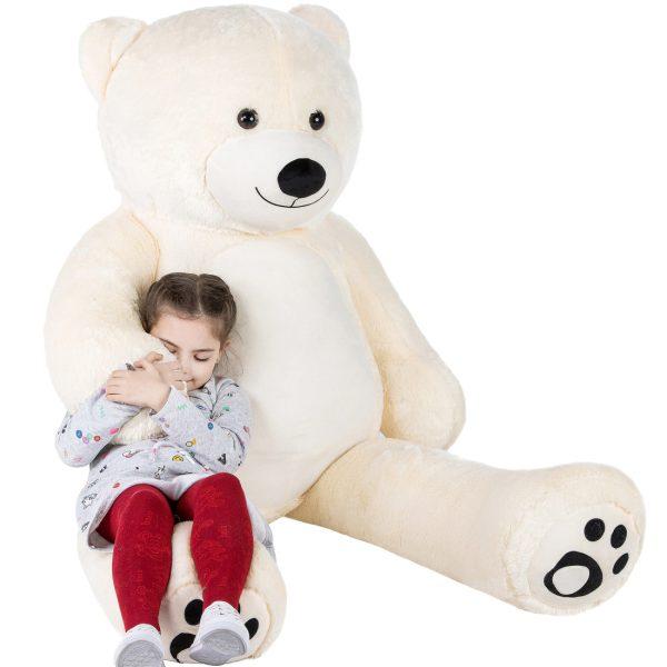 Daney teddy teddy 6foot white 001