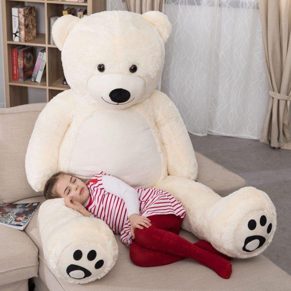 Daney teddy teddy 6foot white 002