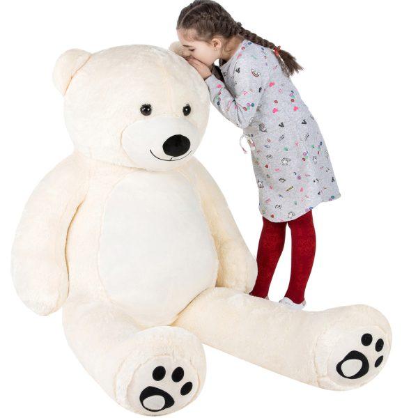 Daney teddy teddy 6foot white 003