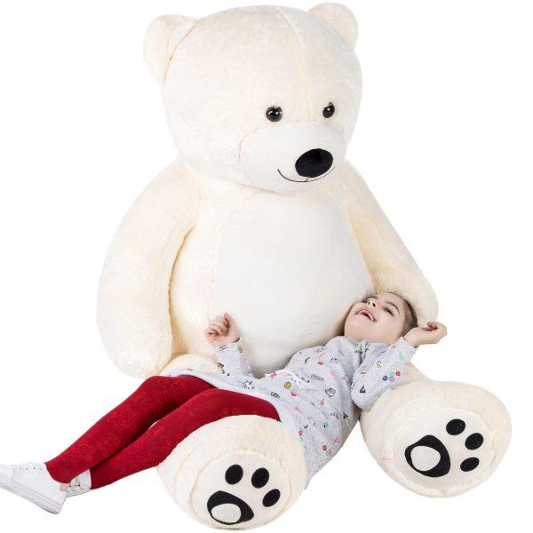 Daney teddy teddy 6foot white 004