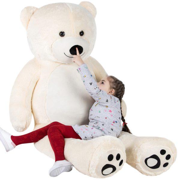 Daney teddy teddy 6foot white 005