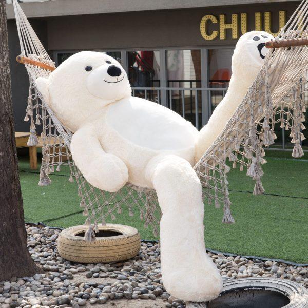 Daney teddy teddy 6foot white 006