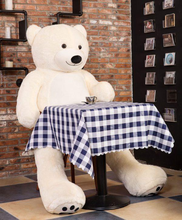 Daney teddy teddy 6foot white 007
