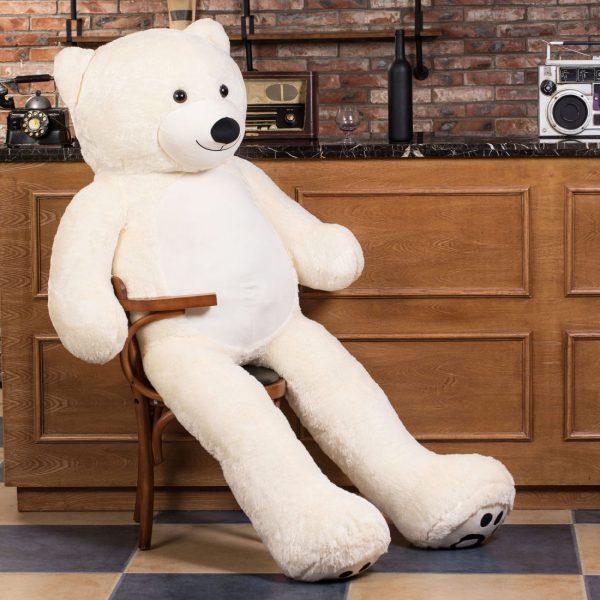 Daney teddy teddy 6foot white 009