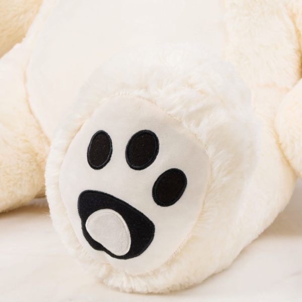 Daney teddy teddy 6foot white 014