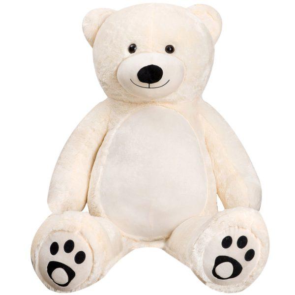 Daney teddy teddy 6foot white 015