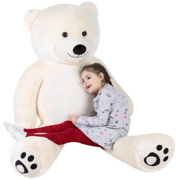 Daney teddy teddy 6foot white 018