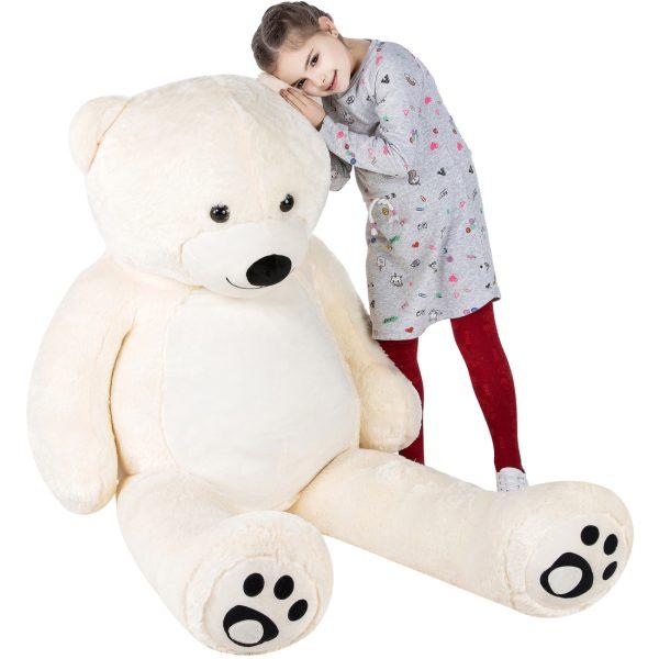 Daney teddy teddy 6foot white 022